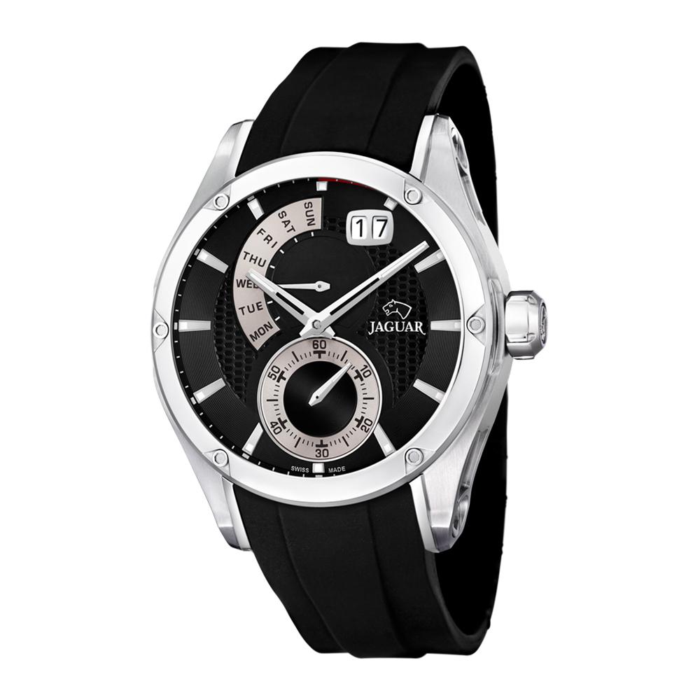 瑞士JAGUAR | 潮流時尚錶 Special Edition(黑銀) - J678/2