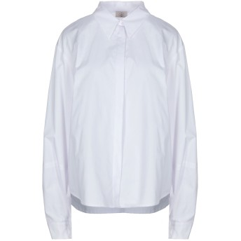 《セール開催中》EMMA & GAIA レディース シャツ ホワイト 44 コットン 100%