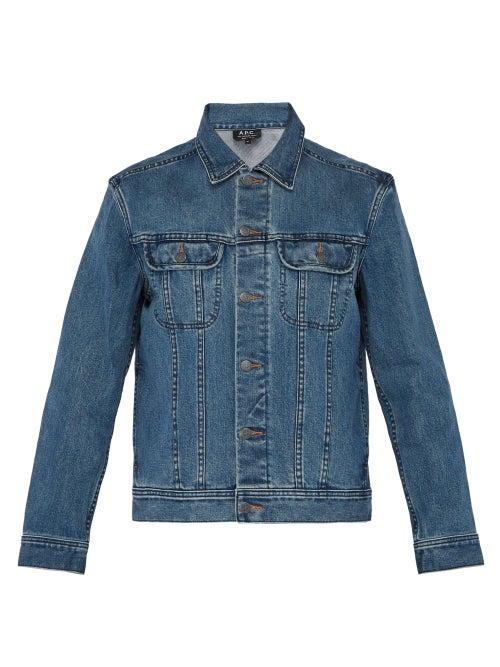 A.P.C. - Washed Denim Jacket - Mens - Indigo
