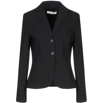 《セール開催中》LIVIANA CONTI レディース テーラードジャケット ブラック 44 レーヨン 71% / ナイロン 25% / ポリウレタン 4%