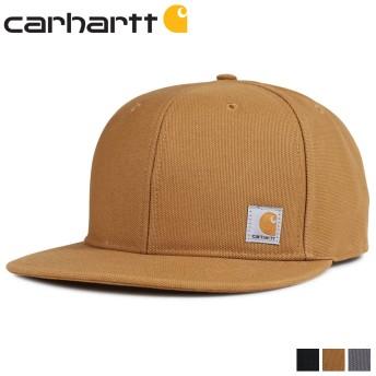 カーハート carhartt キャップ 帽子 メンズ レディース スナップバック ASHLAND CAP ブラック ブラウン 黒 101604 [5/1 新入荷]