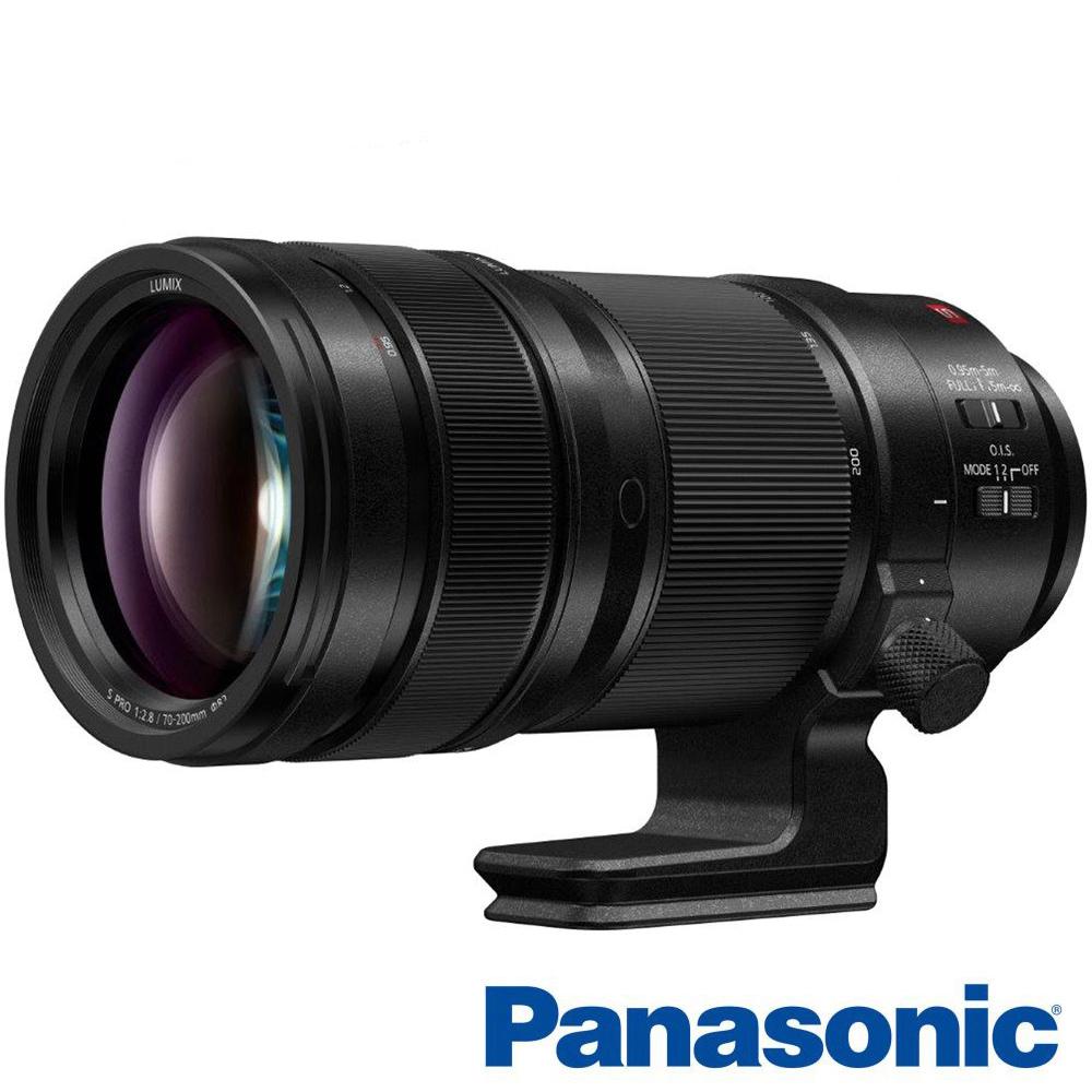 Panasonic 國際牌 LUMIX S 70-200mm F2.8 Pro O.I.S 望遠鏡(松下公司貨 全幅用 S-E70200)