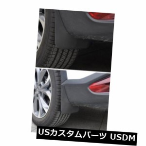 4PCS ABS Car Black Splash Guards Mud Flaps Fenders For Mazda CX-3 CX3 2017 2018