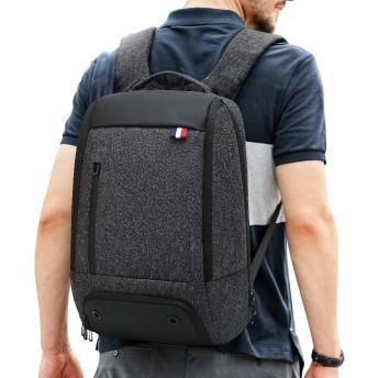 Saniferビジネスリュック バックパック メンズ リュックサック 大容量 撥水 15.6インチpcバッグ USB充電ポート 通勤 出張 盗難防止 (モデル1)