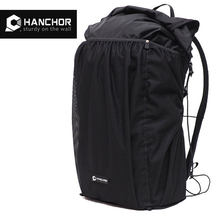 【HANCHOR 台灣】PUMICE 極輕量登山背包 運動背包 黑色 (OD25)