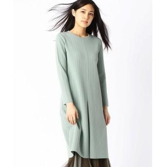 COMME CA / コムサ ミラノリブニットドレス