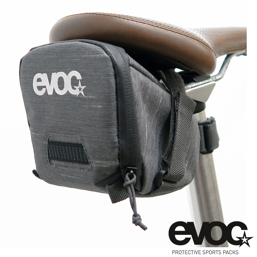 eVOC德國 SEAT BAG TOUR(大)魔鬼氈式座墊包/座管袋-兩色