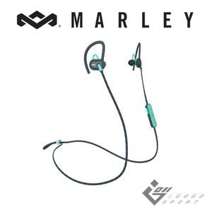 Marley Uprise 藍牙運動耳機 - 湖水藍