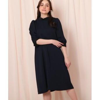 Couture Brooch/クチュールブローチ 2WAYボウタイワンピース ネイビー(093) 36(S)