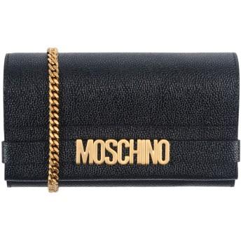 《セール開催中》MOSCHINO レディース メッセンジャーバッグ ブラック 革