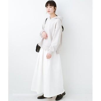 ハコ Urvin 伊藤信子×sayurinishikuboコラボ tann'sスカート レディース ホワイト 2 【haco!】