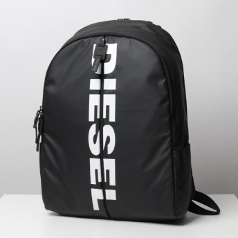 DIESEL ディーゼル X06330 P1705 BOLD BACK II バックパック リュック ロゴ 鞄 T8013/ブラック メンズ
