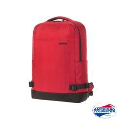 AT 美國旅行者 Milton極簡實用筆電後背包14 紅