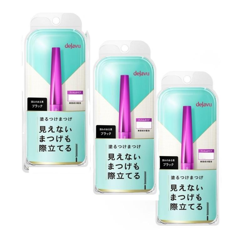 dejavu「立體分明型」 刷出假睫毛─睫采分明立體睫毛膏 3入組