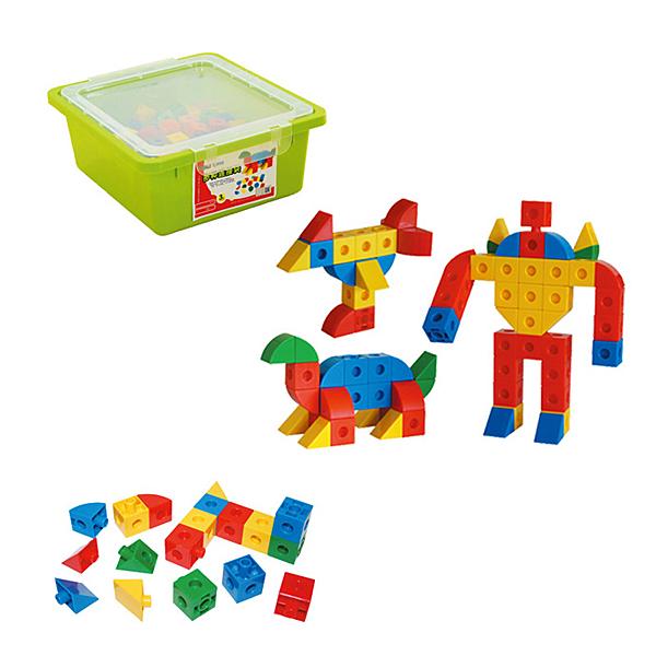 【華森葳兒童教玩具】建構積木系列-多種連接塊 E10-B20
