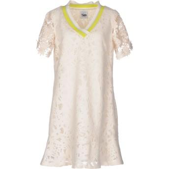 《セール開催中》MY TWIN TWINSET レディース ミニワンピース&ドレス アイボリー S ポリエステル 97% / ポリウレタン 3%