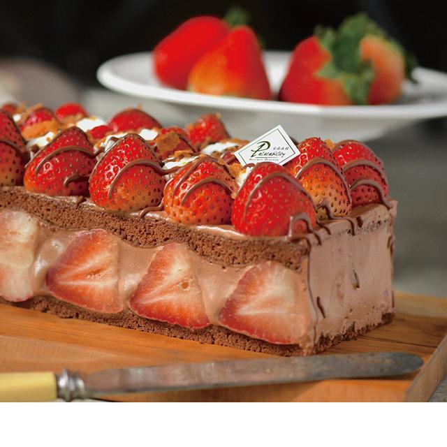 【食感旅程Palatability】北海道草莓蛋糕任選1條