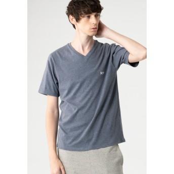 MACKINTOSH PHILOSOPHY 【WEB限定】MPロゴ Vネックプルオーバー Tシャツ Tシャツ・カットソー,ブルー