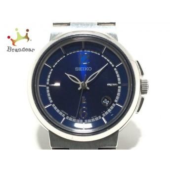 セイコー SEIKO 腕時計 ルキア 7N82-6E00 レディース ダークネイビー 新着 20200204