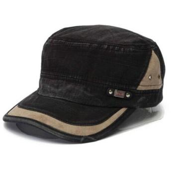 Cap/キャップ/ヒップホップ/B系/ストリート系/アーミー/Men Women Cotton Flat Cap Classic Adjustable Plain Faded Army Military Cadet Hat