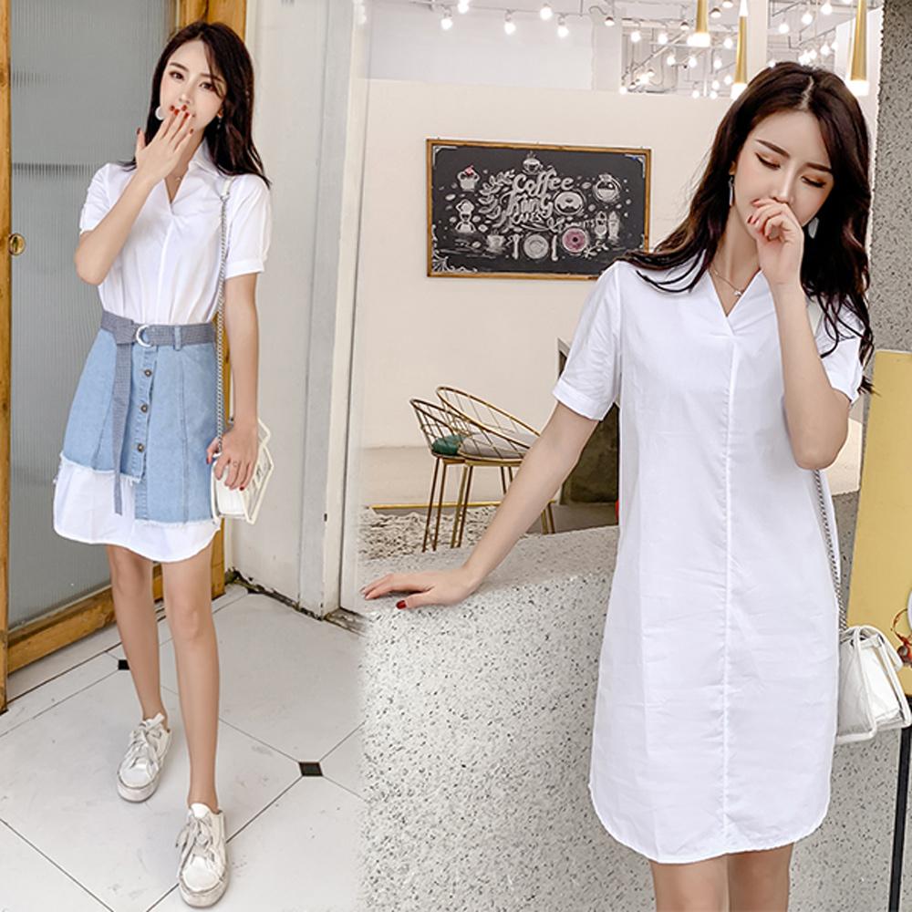 【韓國K.W.】(現貨) L 超有型夏日風尚半身裙套裝