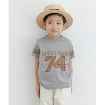 アーバンリサーチドアーズ Champion×DOORS フットボールTシャツ(KIDS) レディース 杢グレー 120 【URBAN RESEARCH DOORS】