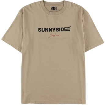 【6,000円(税込)以上のお買物で全国送料無料。】【UNISEX】SUNNYSIDE半袖Tシャツ