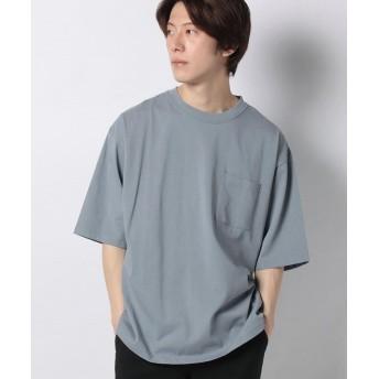 【30%OFF】 アーバンリサーチ アウトレット シルケットTシャツ メンズ ブルー 38 【URBAN RESEARCH OUTLET】 【セール開催中】
