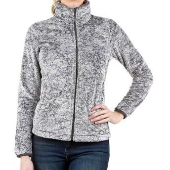 (取寄)ノースフェイス レディース シーズナル オシト ジャケット The North Face Women's Seasonal Osito Jacket Graphite Grey Marble P