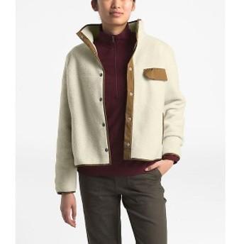 (取寄)ノースフェイス レディース クラグモント フリース ジャケット The North Face Women's Cragmont Fleece Jacket Vintage White / C