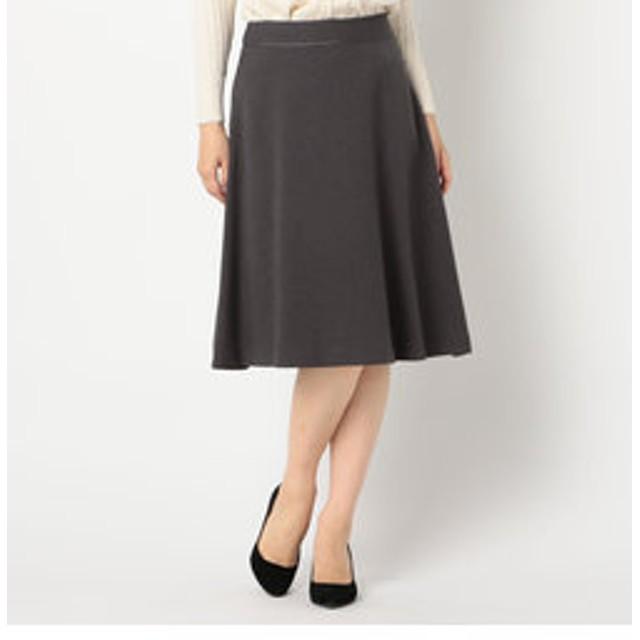【FREDY & GLOSTER:スカート】フェイクフランネルフレアスカート