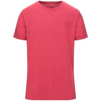 《セール開催中》HENRY COTTON'S メンズ T シャツ レッド L コットン 100%