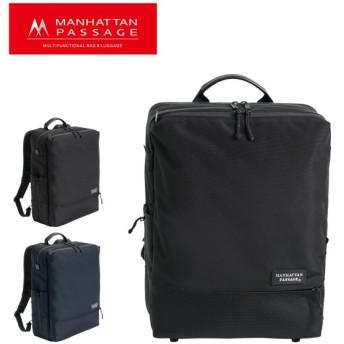 マンハッタンパッセージ リュック EST メンズ5416 MANHATTAN PASSAGE | ビジネスリュック A4 高密度ナイロン 撥水 軽量