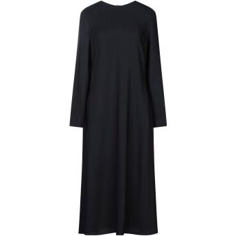 《セール開催中》THEORY レディース 7分丈ワンピース・ドレス ブラック 0 レーヨン 97% / ポリウレタン 3%