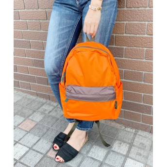 Daily russet(デイリー ラシット) レディース Backpack(M)/リュックサック オレンジ