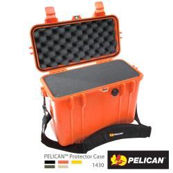 美國 PELICAN 1430 氣密箱-含泡棉(橘)
