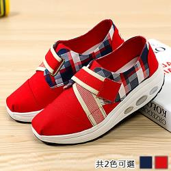 【Alice】(現貨+預購)造型格紋英倫風健走鞋