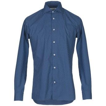 《セール開催中》29 TWENTYNINE メンズ シャツ ブルー 39 コットン 100%