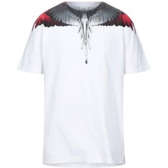 《セール開催中》MARCELO BURLON メンズ T シャツ ホワイト M コットン 100%
