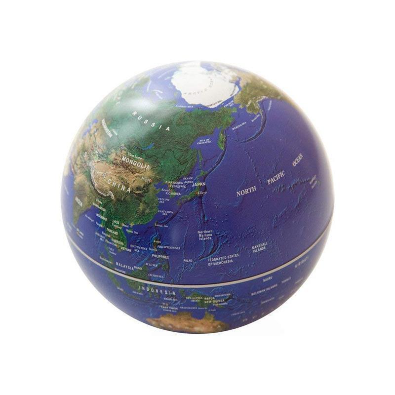 自轉地球儀-地球藍 地球藍