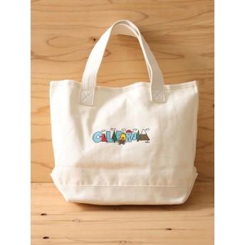 【6,000円(税込)以上のお買物で全国送料無料。】・MEI×cleofus プリントトートバッグ