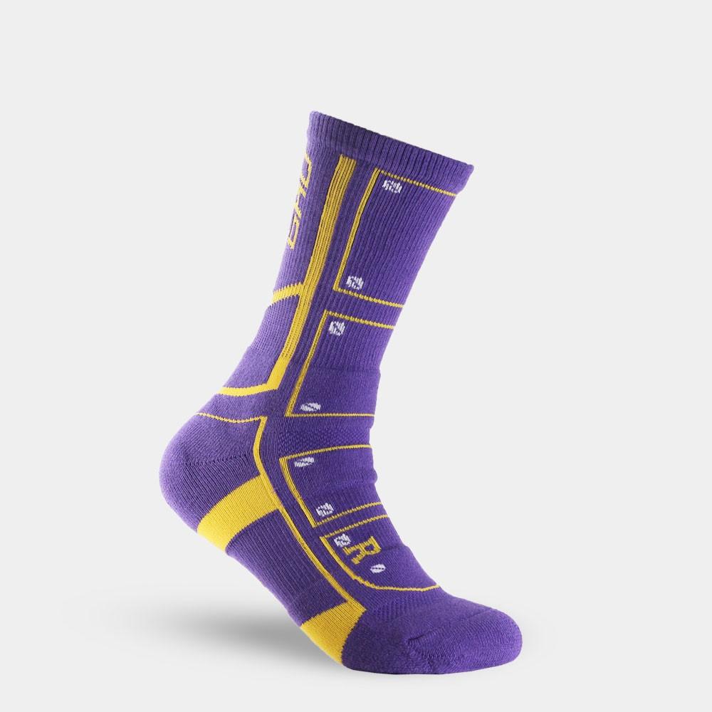【OH9 台灣黑狗兄】終結者籃球襪-紫