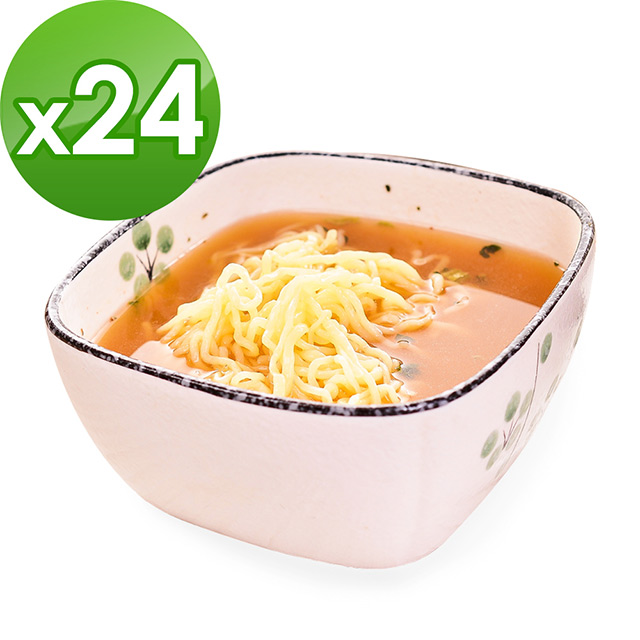 樂活e棧 低卡蒟蒻麵 燕麥涼麵+濃湯 共24份