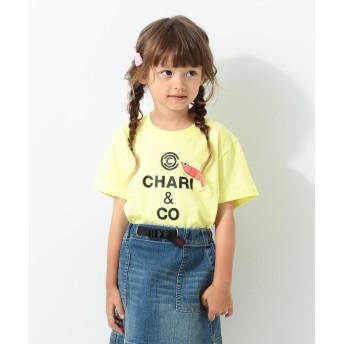 こどもビームス Chari & Co. / ebi 半袖 Tシャツ 20(100~150cm) キッズ YELLOW 150 【KODOMOBEAMS】