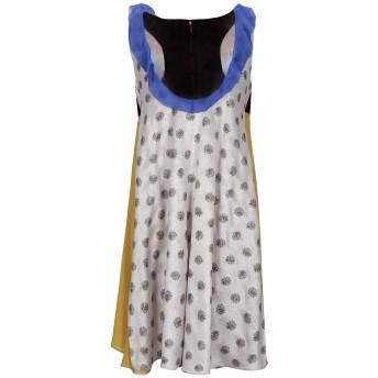 《セール開催中》VALENTINO レディース ミニワンピース&ドレス ベージュ 40 アセテート 59% / レーヨン 34% / 金属繊維 7% / シルク
