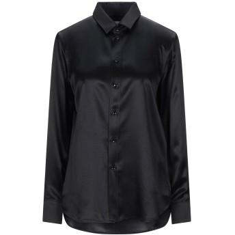 《セール開催中》SAINT LAURENT レディース シャツ ブラック 40 シルク 100%
