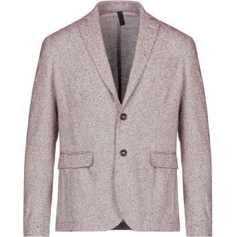 《セール開催中》MR MASSIMO REBECCHI メンズ テーラードジャケット ボルドー 46 コットン 50% / ポリエステル 45% / ナイロン 5%