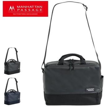 マンハッタンパッセージ ブリーフケース 2WAY Plus メンズ3385 MANHATTAN PASSAGE | ショルダーバッグ ビジネスバッグ B5 高密度ナイロン 撥水 軽量