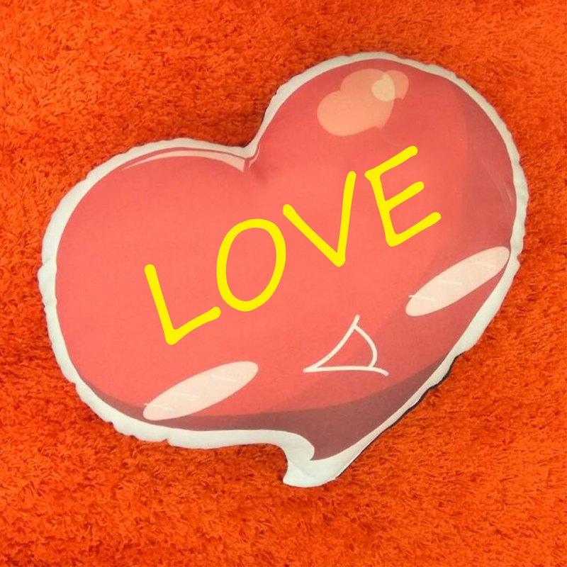:: 客製化 禮物 :: 寵物 / 人形 / 手作形狀抱枕 :: 自己的抱枕自己印 :: 抱枕背面可選顏色 ( 咖啡色 / 黑色 / 米色 )