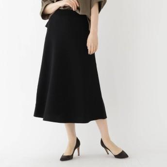 ドレステリア DRESSTERIOR 【セットアップ可】ミラノリブニットロングスカート (ブラック)